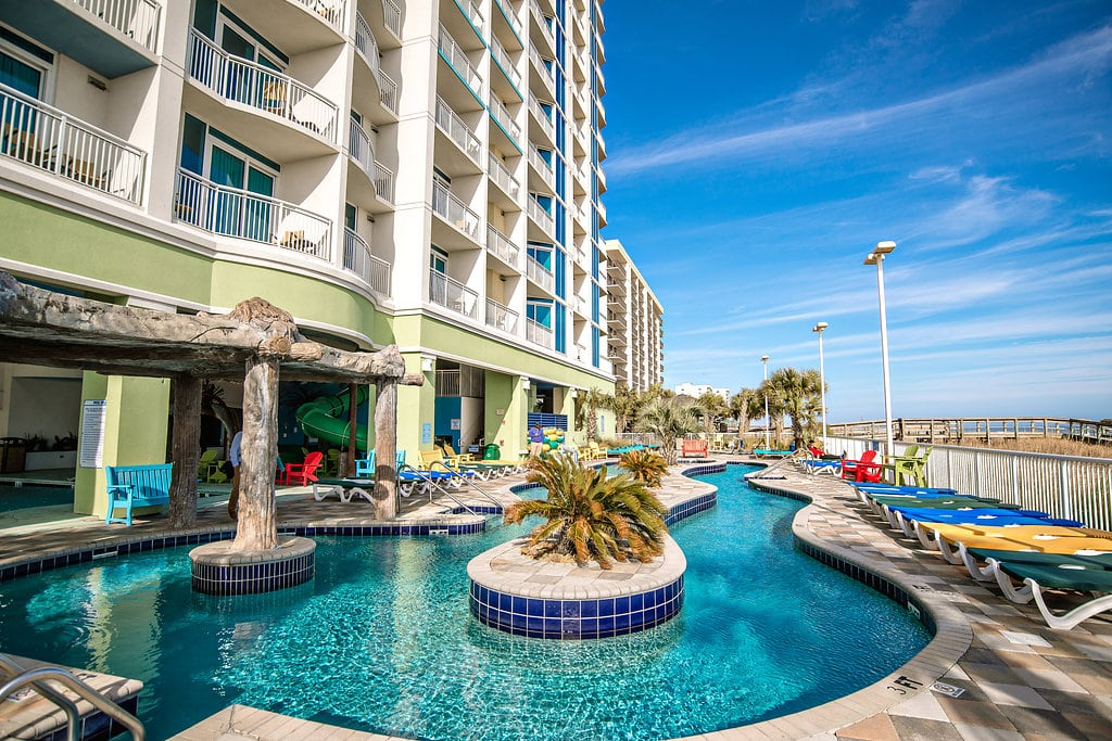 Towers at north myrtle beach myrtle beach seaside - Two bedroom suites in myrtle beach sc ...